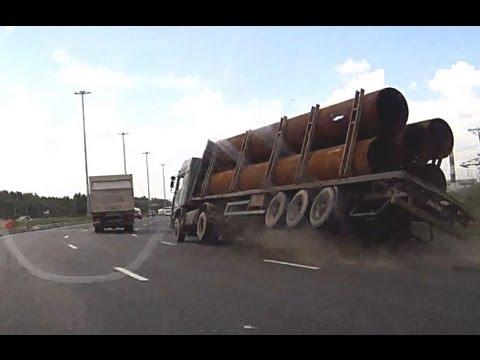 VIDEO – Profesionālie smagās kravas automašīnas šoferi! (Professional Truck Drivers)
