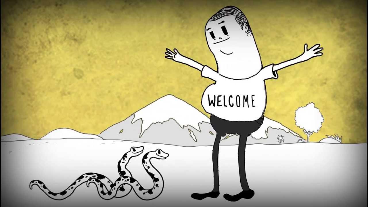 VIDEO – Viss par cilvēci īsā multfilmā! (MAN)