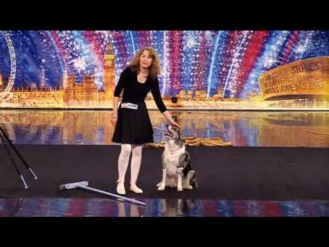 VIDEO – Suns ar savu saimnieci satriec žūriju! (This Dog And His Human Took The Stage And Blew Everyone Away!)
