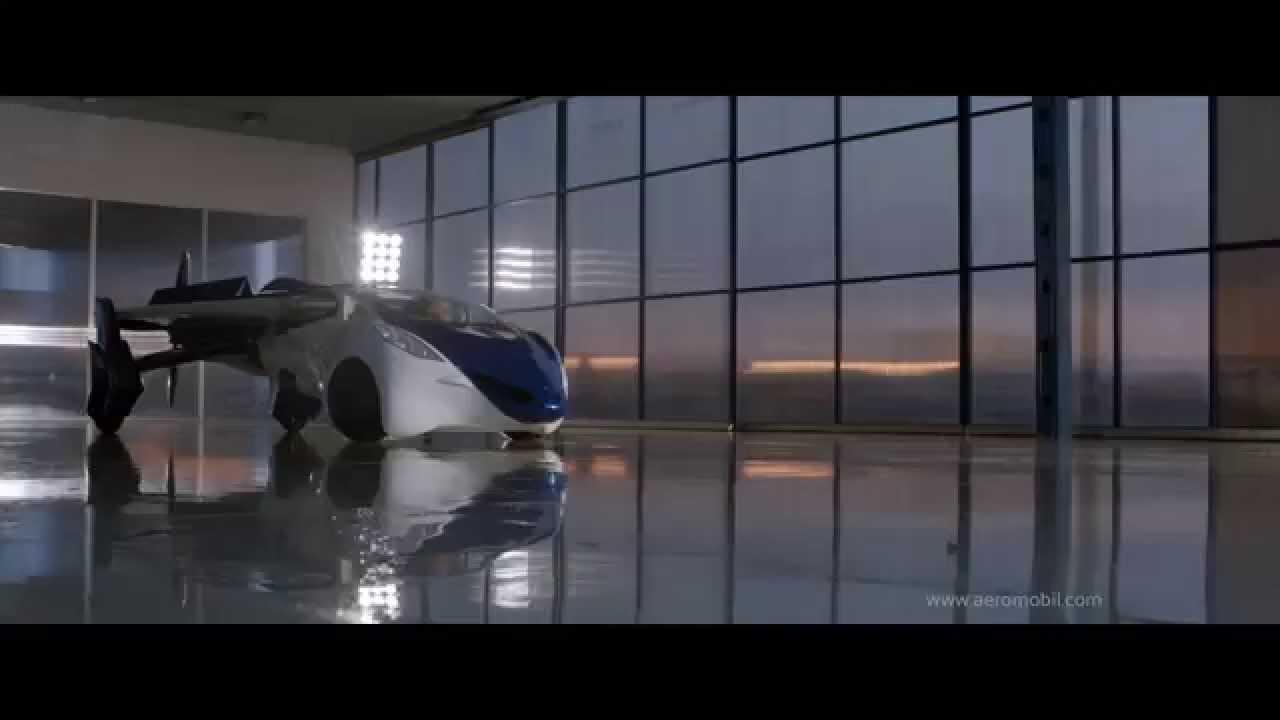 VIDEO – Tiks uzsākta lidojoša auto ražošana! (AeroMobil – flying car!)