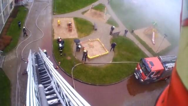 VIDEO – Ugunsdzēsēju ikdiena! Skats no glābēju kameras! (Firefighters from Republic of Latvia!)