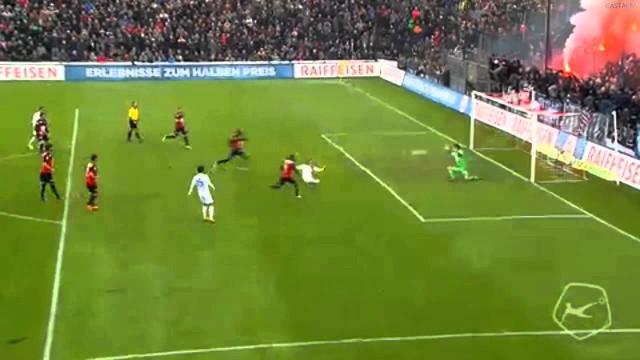 VIDEO – Iespējams neticamākais soda sitiens, kāds jebkad redzēts! (Joël Mall Great Defended Penalty FC Aarau vs FC Zurich)