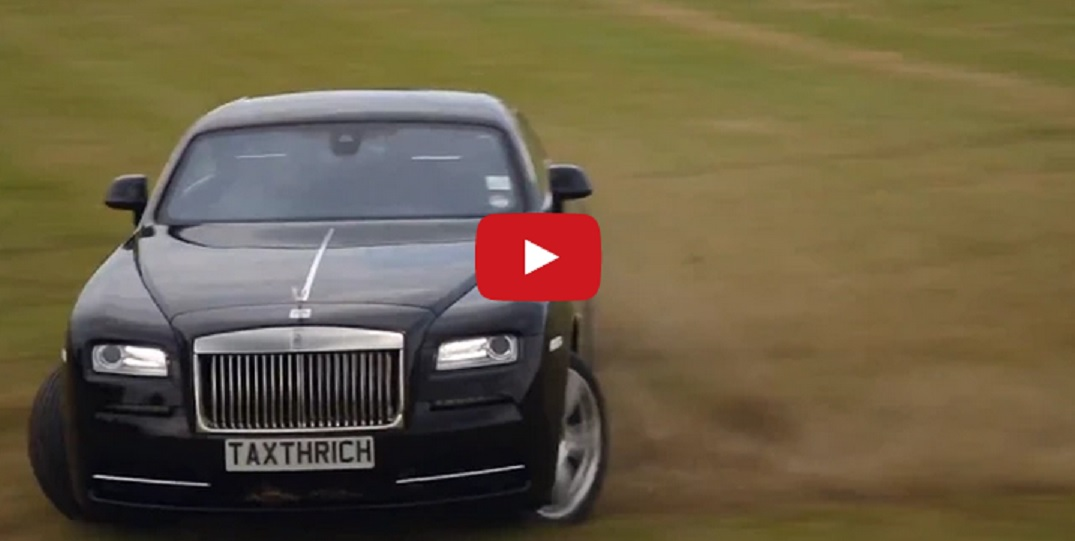 "VIDEO – Izbrauciens ar Rolls Royce pa ""Rēgu"" dārzu. (The Garden of Wraith – by Rolls Royce)"