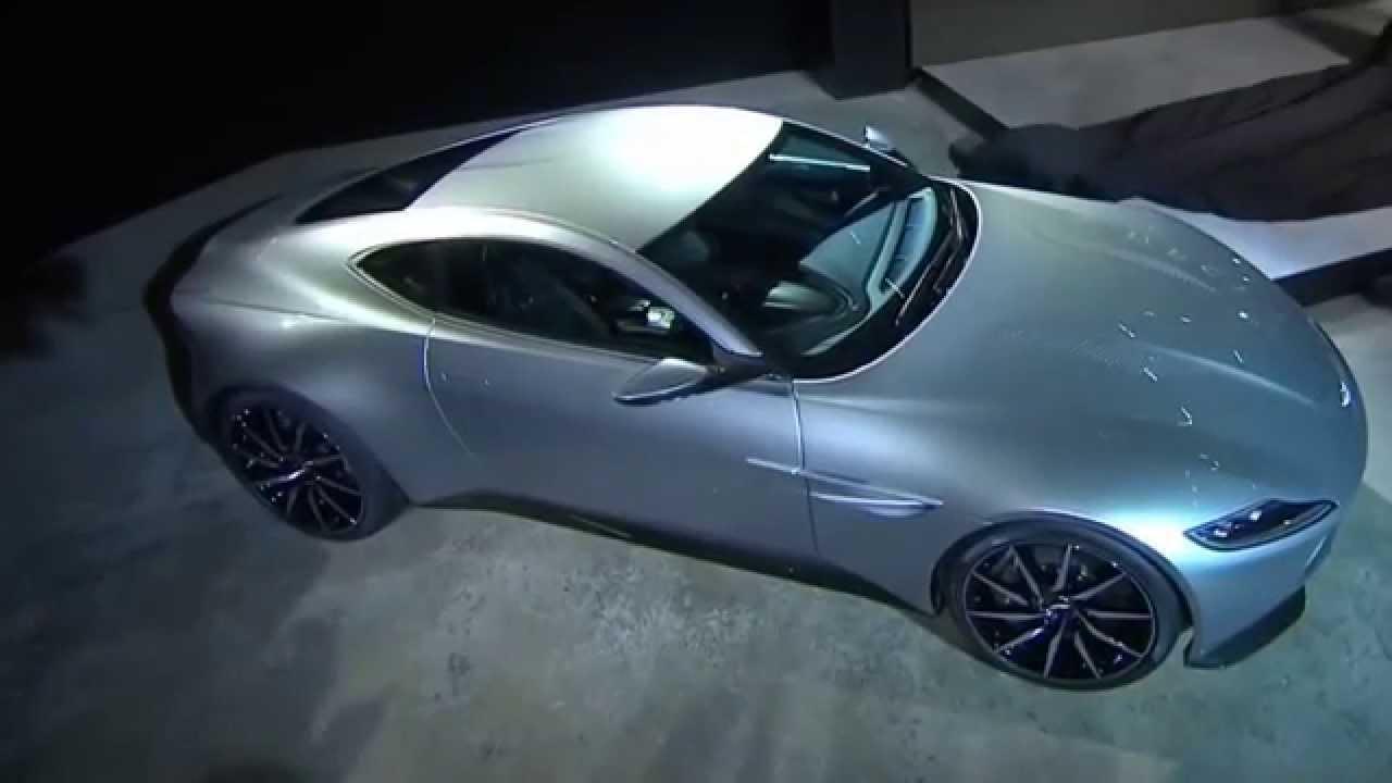 VIDEO – Kā izskatās Džeimsa Bonda jaunais Aston Martin DB10?  (New 2015 Aston Martin DB10 – James Bond 007 Spectre)