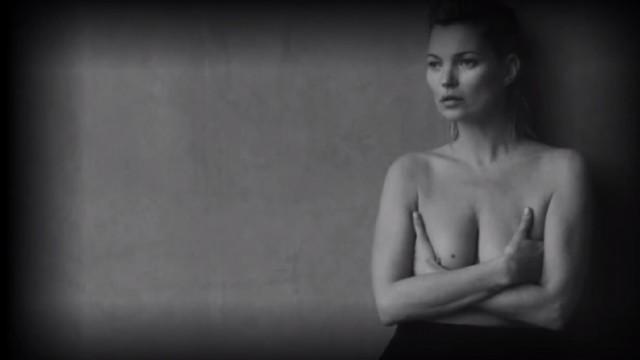 VIDEO: Kā supermodele Keita Mosa izskatās bez grima un fotošopa!? (Kate Moss without makeup and photoshop!)