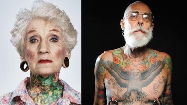 VIDEO: Kā izskatīsies mūsdienu jaunieši ar tetovējumiem pēc 50 gadiem! (How Do Tattoos Change Over 50 Years)