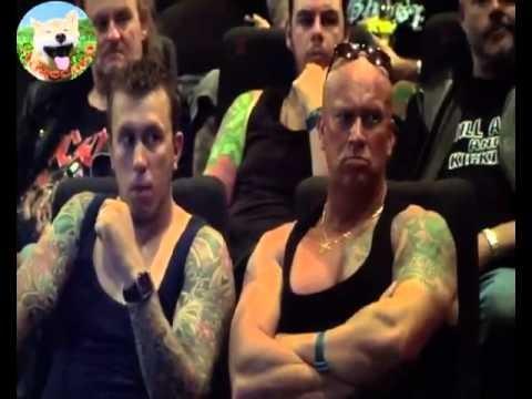 VIDEO: Izjokošana kinoteātrī! (Funny cinema prank)