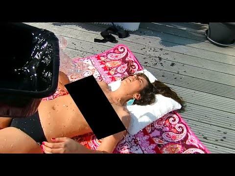 VIDEO: Visai slapjš veids, kā pamodināt savu meiteni! (COLD WATER WAKE UP PRANK, BABE!!!)