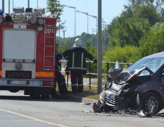 Smaga avārija; diemžēl, vadītāja dzīvību glābt nav izdevies