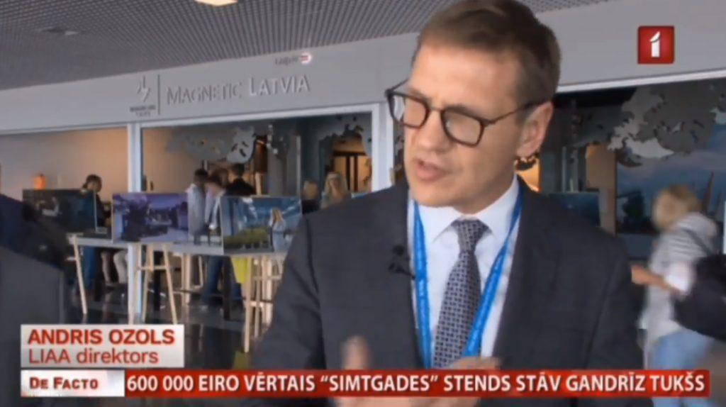 Rīgas lidostā izveidotais 600 tūkstošu eiro stends stāv gandrīz tukšs; Kurš atbildēs par vējā izmesto naudu?