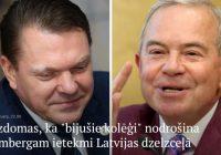 """""""Bijušie kolēģi"""" arvien nodrošinot Lembergam ietekmi Latvijas dzelzceļā, raksta portāls"""