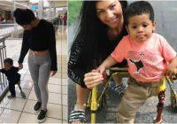 Bērns, kura protēzes kāja tika nozagta, iegūst jaunu, pateicoties svešinieku laipnībai