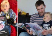 Tēvs uzraksta grāmatu, kurā, pirms sava dēla nāves, pārvērš viņu par supervaroni