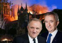 Miljardieri no Francijas izmanto nelaimi un sacenšas par to, kurš sniegs lielāku ziedojumu Parīzes Dievmātes katedrālei