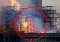 Kāda māmiņa apgalvo, ka redz Jēzu Parīzes Dievmātes katedrāles liesmās