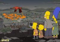 """""""Simpsoni"""" atkal pārsteidz ar pareģojumu, šoreiz saistībā ar seriālu """"Troņu spēle"""""""
