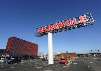 """Iepirkšanās un izklaides centrs """"Akropole"""" sveic miljono apmeklētāju"""