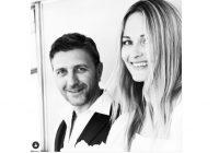 Kiviča bijusī sieva Elīna Straume izgājusi pie jaunā vīra un apprecējusies Milānā