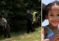 Pazudušas 4 gadus vecas meitenītes mirstīgās atliekas atrod plastmasas maisā, kuram pārbraucis pāri zālespļāvējs