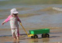 Bērniem izklaide, vecākiem īpaša piesardzība; kādi drošības noteikumi jāievēro pludmalē