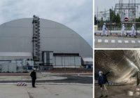 FOTO: Ieskaties jaunajā 2,1 miljardu vērtajā sarkofāgā, kas uzbūvēts pār iznīcināto Černobiļas atomelektrostaciju