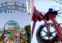 Pusaudze nomirst pēc tam, kad atrakciju parkā salūzt karuselis