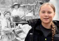 Grēta – laika ceļotāja? Tiek atrasts 120 gadus vecs foto, kurā redzama jaunā dabas aktīviste