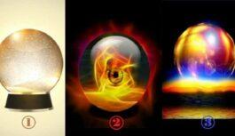 Izvēlieties kristāla bumbu, kas prognozēs, kas jūs sagaida tuvākajās dienās